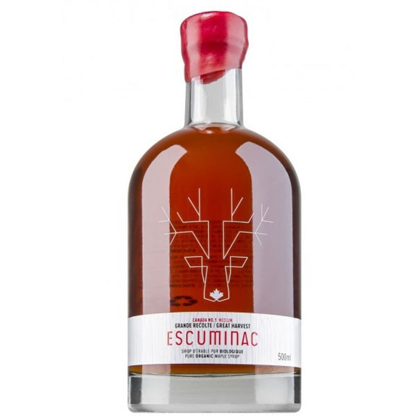 Escuminac Organic Maple Syrup 500ML - Great Harvest