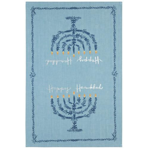 Happy Hanukkah Tea Towels
