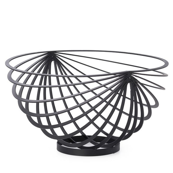 Metal Rib Fruit Bowl