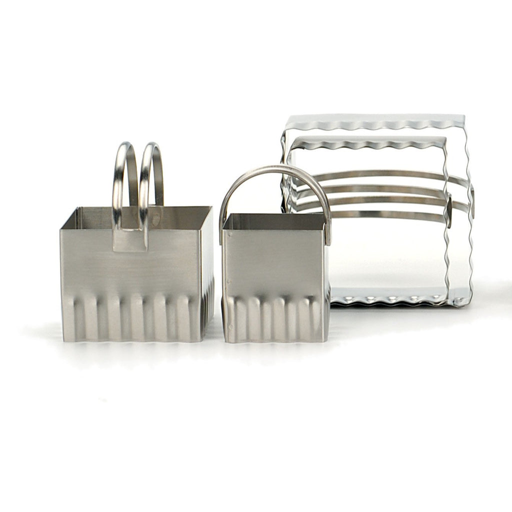 Square Biscuit Cutter Set