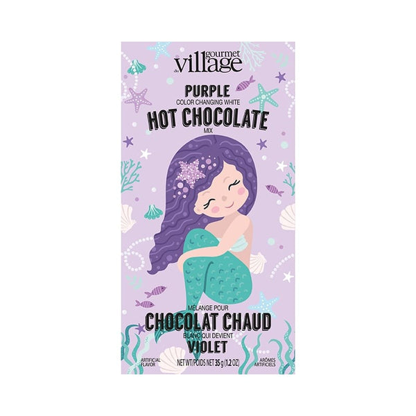 Purple Mermaid Hot Chocolate