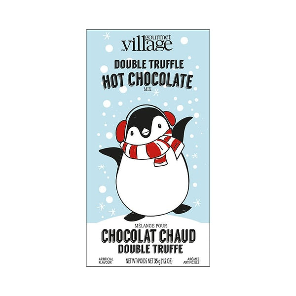 Retro Penguin Hot Chocolate
