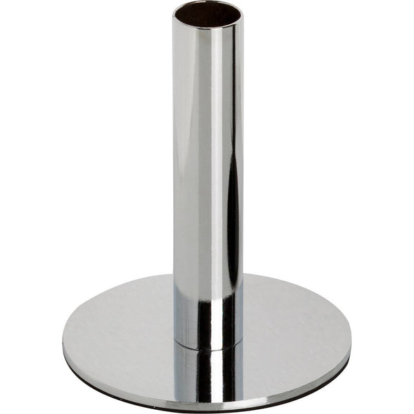 Tall Silver Candle Holder
