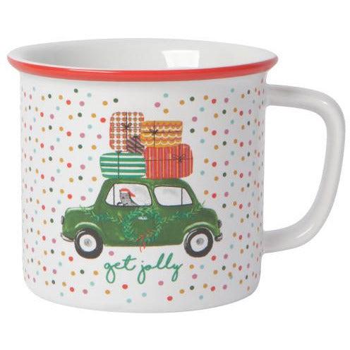 Winter Wheels Heritage Mug