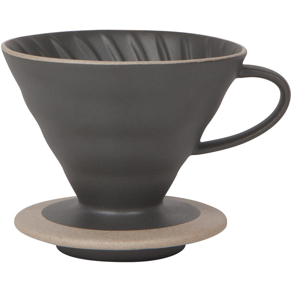 Coffee Pourover Dripper Matte Black