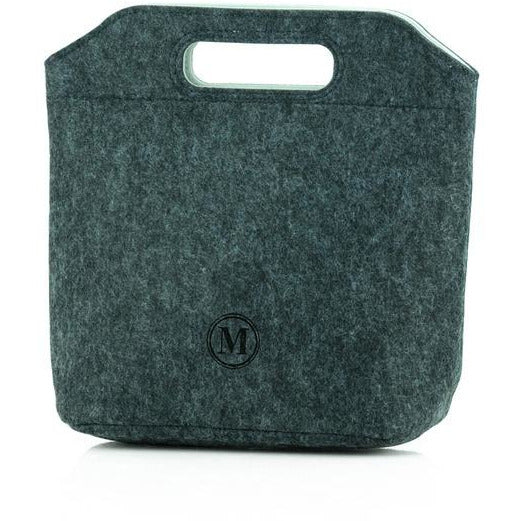 Minimal Lunch Tote Grey