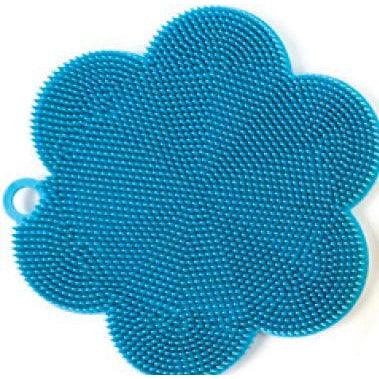 Turquoise Silicone Scrubber