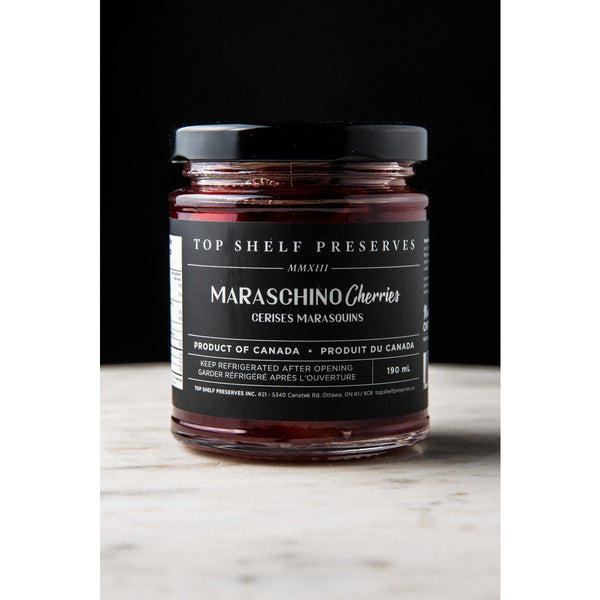 Top Shelf Preserves Maraschino Cherries