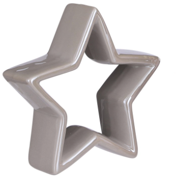 Ceramic Star Grey