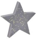 Star Decoration Small Silver
