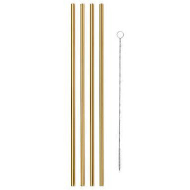 Gold Straw Set