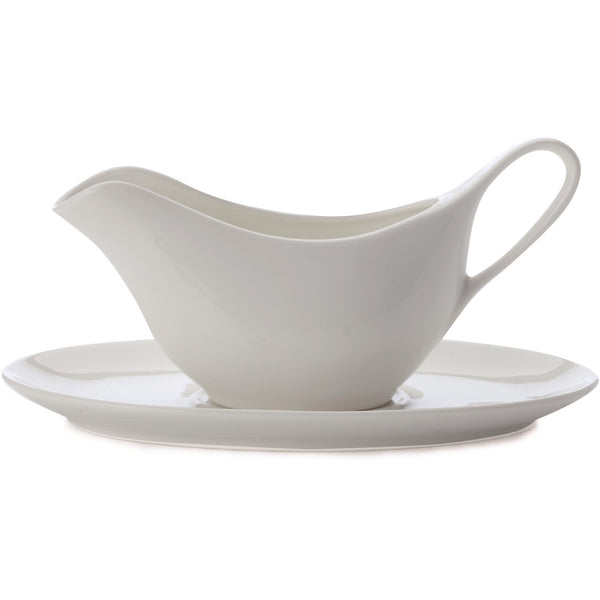 Gravy Boat and Saucer
