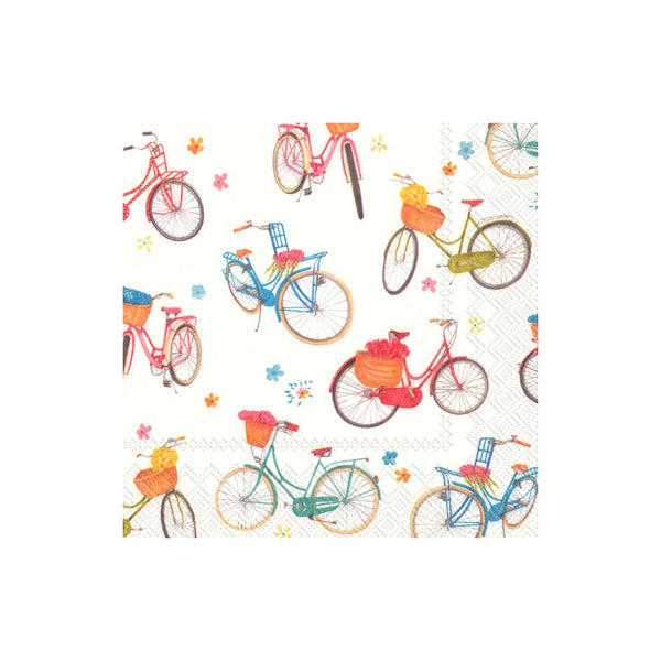 Bicycle Paper Napkins - Lunch