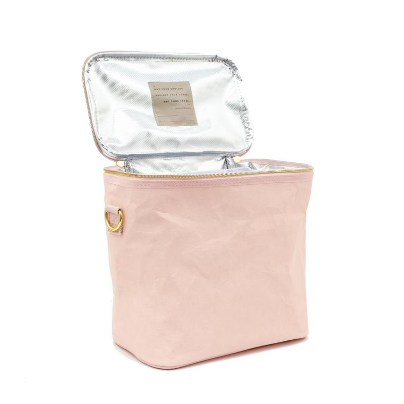 Blush Paper Lunch Bag