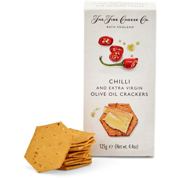 Chili & Extra Virgin Olive Oil Crackers