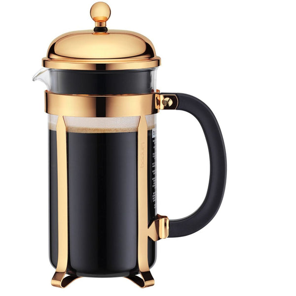 Gold Bodum French Press 8 Cup