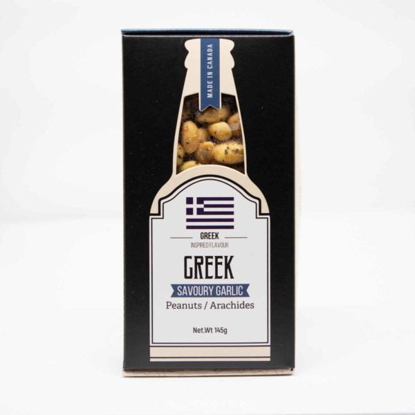 Beer Snacks: Greek Peanuts