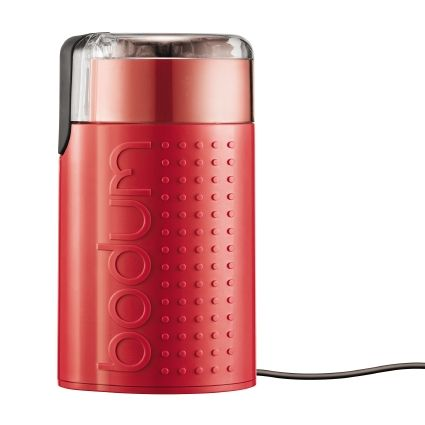 Bodum Electric Coffee Grinder - Red