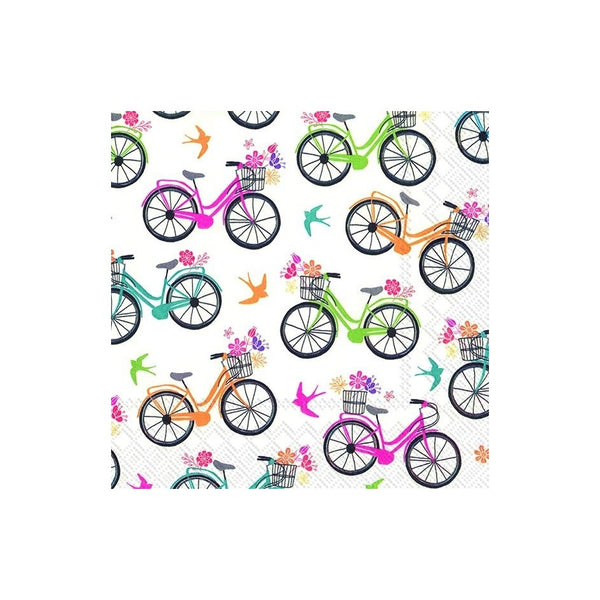 Bicycle Paper Napkins - Cocktail