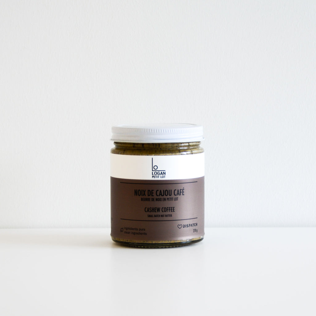 Cashew Coffee Butter - Logan Petit Lot