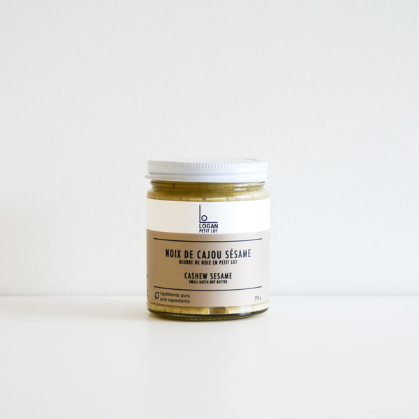 Cashew Sesame Butter - Logan Petit Lot