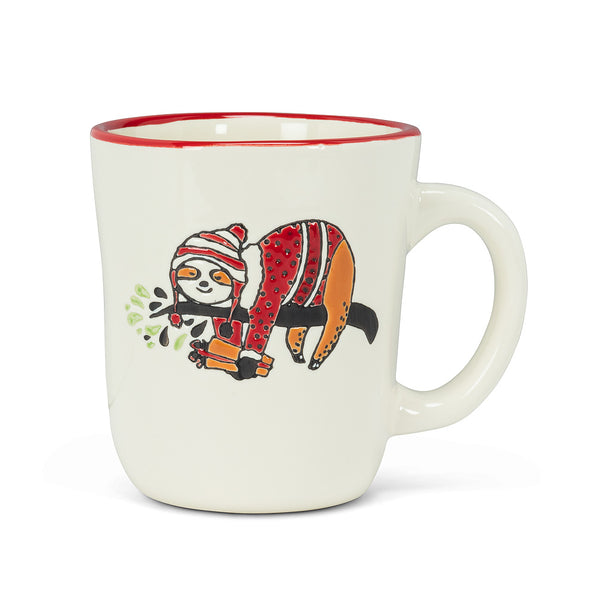 Holiday Sloth Mug