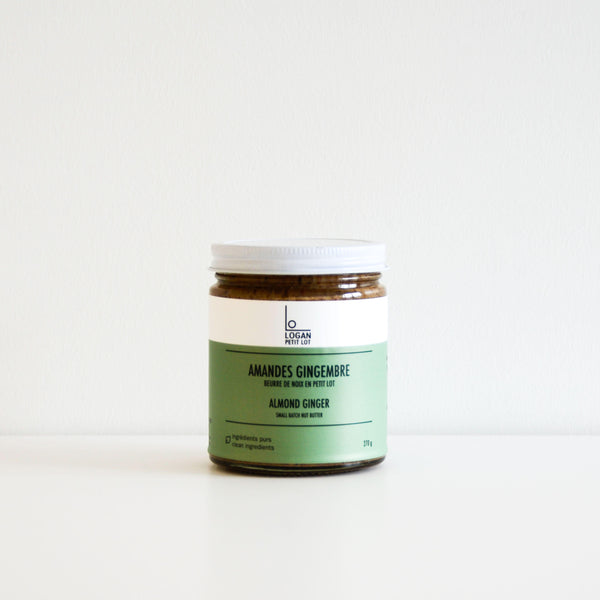 Almond Ginger Butter - Logan Petit Lot
