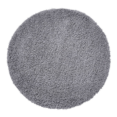 Think Rugs Vista 2236 Grey | Shaggy Grey Rugs | 133cm x 133cm
