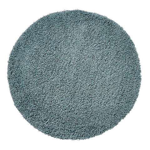 Think Rugs Vista 2236 Teal Blue | Shaggy Teal Blue Rugs | 133cm x 133cm