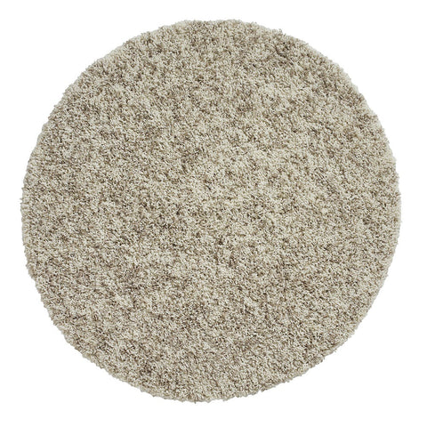 Think Rugs Vista 4803 Shaggy | Shaggy Cream Rugs | 133cm x 133cm