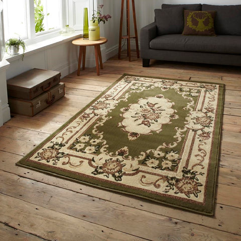 Think Rugs Marrakesh Light Green | Budget Light Green Rugs | 60cm x 105cm