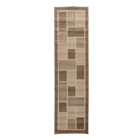 Flair Rugs Visiona Aspect 4304 | Runner Natural Rugs | 60cm x 230cm