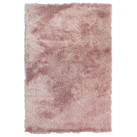 Flair Rugs Dazzle | Shaggy Pink Rugs | 60cm x 110cm