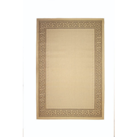 Flair Rugs Florence Alfresco Lorenzo | Traditional Beige Rugs | 80cm x 150cm