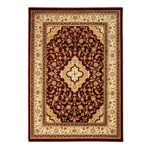 Flair Rugs Ottoman Temple | Traditional Red Rugs | 160cm x 230cm
