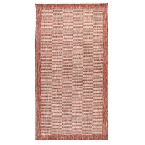 Flair Rugs Florence Alfresco Raffles | Traditional Rust Rugs | 80cm x 150cm