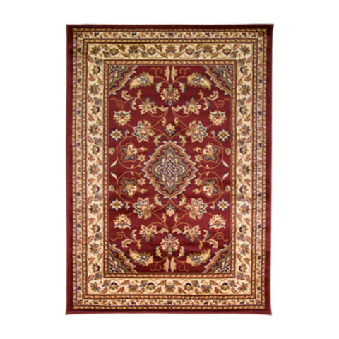 Flair Rugs Sincerity Royale Sherborne | Traditional Red Rugs | 80cm x 150cm
