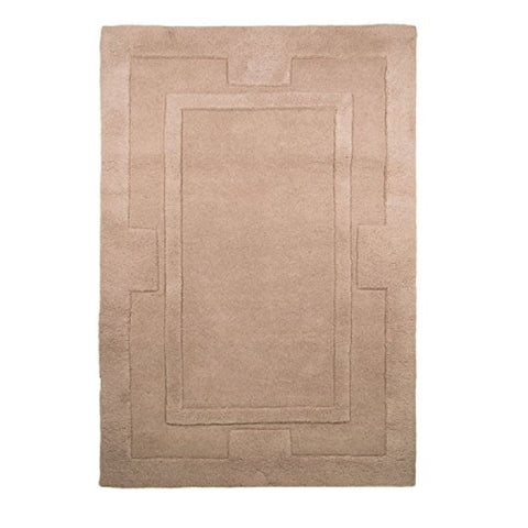 Flair Rugs Sierra Apollo | Modern Beige Rugs | 200cm x 200cm