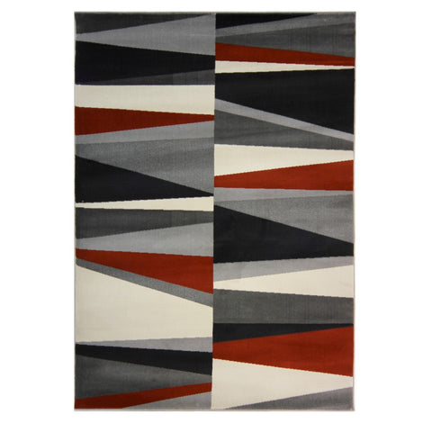 Flair Rugs Cocktail Spritz | Modern Terracotta Rugs | 80cm x 150cm