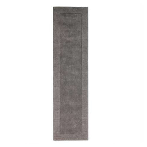 Flair Rugs Tuscany Siena | Runner Grey Rugs | 60cm x 230cm