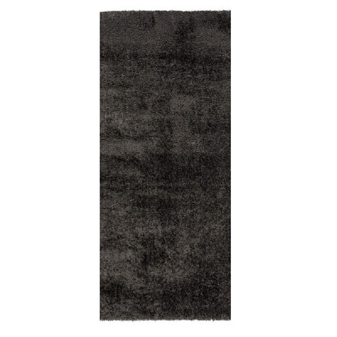Flair Rugs Velvet | Runner Charcoal Rugs | 60cm x 230cm