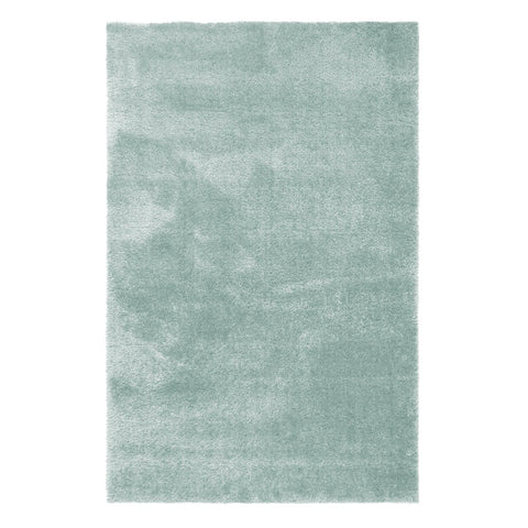 Flair Rugs Velvet | Shaggy Duck Egg Rugs | 120cm x 170cm