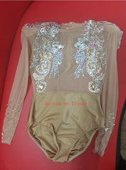 Luxury Crystal Bodysuit