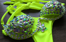 Load image into Gallery viewer, Neon Crystal Carnival Swimwear Leg Band & Body Chain