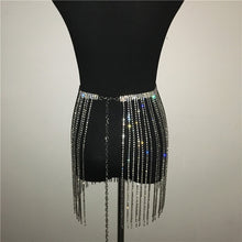 Load image into Gallery viewer, Elite Rhinestone Skirt