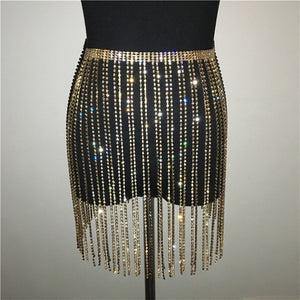 Elite Rhinestone Skirt