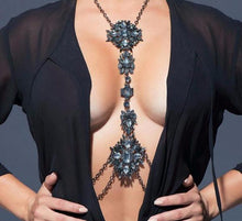 Load image into Gallery viewer, Luxury Mini Crystal Body Chain - crown-modern