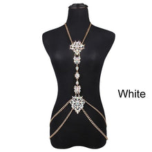 Load image into Gallery viewer, Luxury Crystal Body Chain - crown-modern
