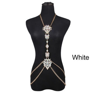 Luxury Crystal Body Chain - crown-modern