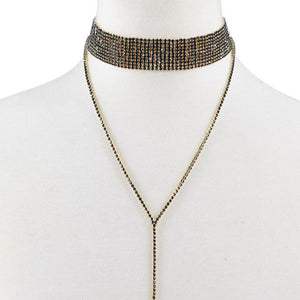Tiffany Diamond Choker Necklace - crown-modern